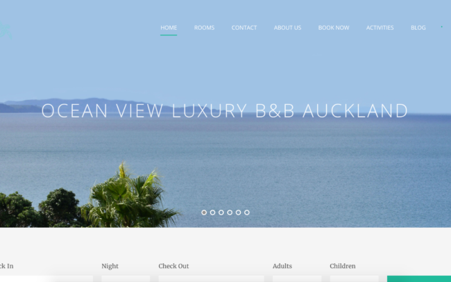 Ocean View Luxury Bed and Breakfast by Developer Squared