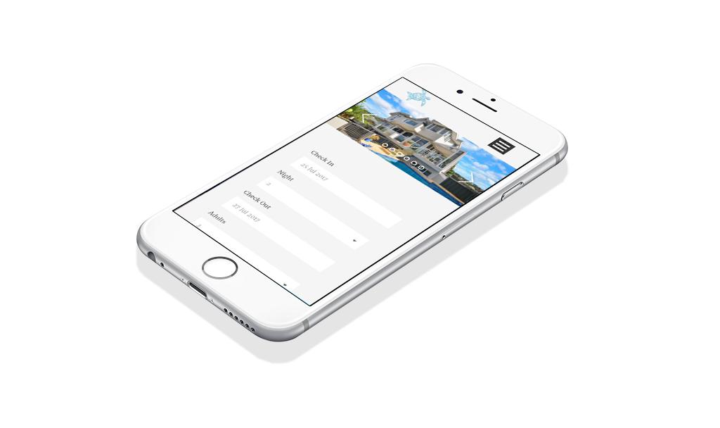 iPhone Ocean View Luxury Bed and Breakfast