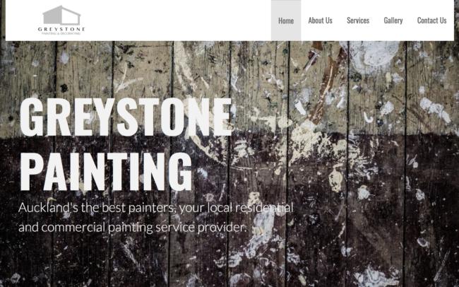 Greystone paining website